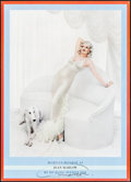 "Movie Posters:Miscellaneous, Marilyn Monroe as Jean Harlow by Richard Avedon (First Edition,1983). Autographed Poster (20"" X 28""). Miscellaneous.. ..."
