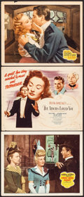"Movie Posters:Musical, Sweet Rosie O'Grady & Others Lot (20th Century Fox, 1943).Title Lobby Cards (2) & Lobby Cards (8) (11"" X 14""). Music..."