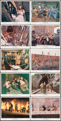 "Movie Posters:War, Von Ryan's Express (20th Century Fox, 1965). Color Photo Set of 12& Color Photos (6) (8"" X 10""). War.. ... (Total: 18 Items)"