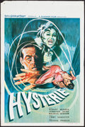 """Movie Posters:Mystery, Hysteria (MGM, 1965). Belgian (14.25"""" X 21.5""""). Mystery.. ..."""