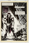 Original Comic Art:Splash Pages, Timothy Truman Starslayer #17 Splash Page 1 Original Art(First, 1984)....