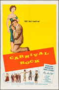 "Movie Posters:Rock and Roll, Carnival Rock (Howco, 1957). One Sheet (27"" X 41""). Rock and Roll....."