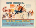 "Movie Posters:Elvis Presley, Follow That Dream (United Artists, 1962). Half Sheet (22"" X 28"").Elvis Presley.. ..."
