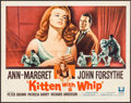 "Movie Posters:Bad Girl, Kitten with a Whip (Universal, 1964). Half Sheet (22"" X 28"") &Lobby Cards (7) (11"" X 14""). Bad Girl.. ... (Total: 8 Items)"