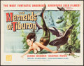 "Movie Posters:Fantasy, The Mermaids of Tiburon (Filmgroup, 1962). Half Sheet (22"" X 28"").Fantasy.. ..."