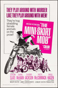 "Movie Posters:Exploitation, The Mini-Skirt Mob (American International, 1968). One Sheet (27"" X41""). Exploitation.. ..."