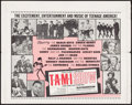"Movie Posters:Rock and Roll, The T.A.M.I. Show (American International, 1964). Half Sheet (23"" X29""). Rock and Roll.. ..."