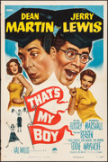 "Movie Posters:Comedy, That's My Boy (Paramount, 1951). One Sheet (27"" X 41""). Comedy.. ..."