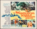 "Movie Posters:Fantasy, The Wonderful World of the Brothers Grimm (MGM, 1963). Half Sheet(22"" X 28"") Style B. Fantasy.. ..."
