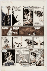 George Perez and Jack Abel Deadly Hands of Kung Fu #20 Story Page 8 White Tiger Original Art (Marvel, 1976)