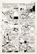 Original Comic Art:Panel Pages, Dick Ayers and John Tartaglione Sgt. Fury and His HowlingCommandos #40 Page 12 Original Art (Marvel, 1967)....