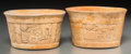 Pre-Columbian:Ceramics, A Pair of Maya Bowls. c. 600 - 800 AD... (Total: 2 Items)