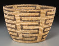 American Indian Art:Baskets, A Papago Coiled Bowl...