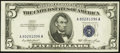 Error Notes:Shifted Third Printing, Fr. 1655 $5 1953 Silver Certificate. About Uncirculated.. ...