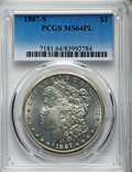 Morgan Dollars, 1887-S/S $1 VAM-2 MS64 Prooflike PCGS....