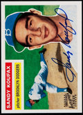 Autographs:Sports Cards, Signed 1995 Topps Archives Sandy Koufax #79. ...