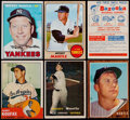 Baseball Cards:Lots, 1957 - 1968 Topps Baseball Card Collection (13) With Five MantleCards....