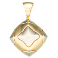 Estate Jewelry:Pendants and Lockets, Gold Pendant, Bvlgari . ...