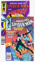 Modern Age (1980-Present):Miscellaneous, Amazing Spider-Man #252/Marvel Team-Up #141 Group (Marvel, 1984) Condition: Average FN.... (Total: 2 Comic Books)