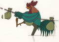 Animation Art:Production Cel, Robin Hood Alan-a-Dale Production Cel (Walt Disney, 1973)....