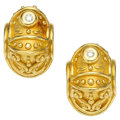 Estate Jewelry:Earrings, Diamond, Gold Earrings, Denise Roberge . ...