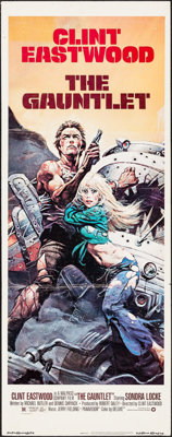 """The Gauntlet (Warner Brothers, 1977). Insert (14"""" X 36""""). Action"""