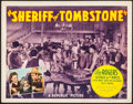 "Movie Posters:Western, Sheriff of Tombstone (Republic, 1941). Title Lobby Card (11"" X 14""). Western.. ..."