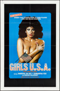"Movie Posters:Adult, Girls U.S.A. (Cinevogue, 1980). One Sheet (27"" X 41""). Adult.. ..."