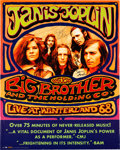 Music Memorabilia:Posters, Big Brother And The Holding Company - Two Signed Posters....