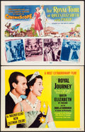 "Movie Posters:Documentary, Royal Journey & Other Lot (United Artists, 1952). Title Lobby Card (2) (11"" X 14""). Documentary.. ... (Total: 2 Items)"