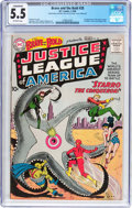 Silver Age (1956-1969):Superhero, The Brave and the Bold #28 Justice League of America (DC, 1960) CGC Conserved FN- 5.5 Off-white pages....