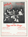 Music Memorabilia:Posters, New York Dolls/Stooges Auditorium South Hall Concert Poster(1973)....