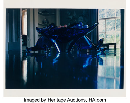 William Eggleston (American, b. 1939) Tennessee, 1973 Dye transfer, printed 1981 13 x 19-1/8 inches (33 x 48.6 cm) S...