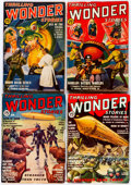 Pulps:Science Fiction, Thrilling Wonder Stories Group of 19 (Standard, 1936-50) Condition:Average VG.... (Total: 19 Items)