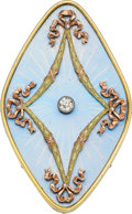Estate Jewelry:Brooches - Pins, Diamond, Enamel, Gold Brooch, Fabergé. ... (Total: 0 Items)