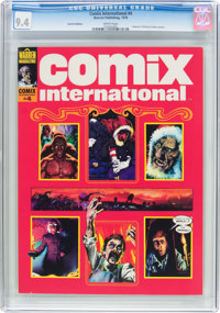 Comix International #4 Variant Edition (Warren, 1976) CGC NM 9.4 White pages