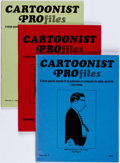 Magazines:Miscellaneous, Cartoonist Profiles Box Lot (Cartoonist Profiles, Inc., 1969-2004)Condition: Average VF/NM.... (Total: 3 Box Lots)