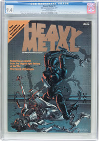 Heavy Metal #1 (HM Communications, 1977) CGC NM 9.4 Off-white to white pages