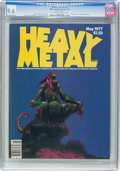 Magazines:Science-Fiction, Heavy Metal #2 (HM Communications, 1977) CGC NM+ 9.6 Off-white to white pages....
