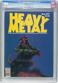 Heavy Metal #2 (HM Communications, 1977) CGC NM+ 9.6 Off-white to white pages
