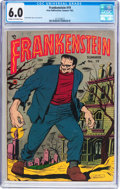Golden Age (1938-1955):Horror, Frankenstein Comics #19 (Prize, 1952) CGC FN 6.0 Cream to off-whitepages....