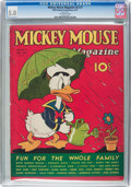 Platinum Age (1897-1937):Miscellaneous, Mickey Mouse Magazine V2#7 (K. K. Publications/Western PublishingCo., 1937) CGC VG/FN 5.0 Off-white pages....