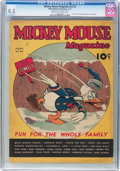 Platinum Age (1897-1937):Miscellaneous, Mickey Mouse Magazine V2#5 (K. K. Publications/Western PublishingCo., 1937) CGC VG+ 4.5 Cream to off-white pages....