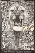 Music Memorabilia:Posters, Grateful Dead/Country Joe And The Fish/Howlin' Wolf - Group Of FourBill Graham Concert Posters (Bill Graham, 1967-68)....