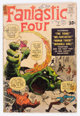Fantastic Four #1 Signed by Stan Lee and Joanie Lee (Marvel, 1961) Condition: FR