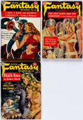 Pulps:Science Fiction, Avon Fantasy Reader #13, 15, and 16 Group (Avon, 1950-51)Condition: Average GD.... (Total: 3 Items)