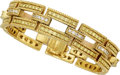 Estate Jewelry:Bracelets, Colored Diamond, Diamond, Gold Bracelet, Judith Ripka. ...
