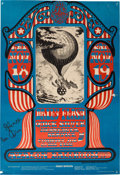 Music Memorabilia:Posters, Country Joe And The Fish - Group Of Five Family Dog Concert PostersSigned By Country Joe McDonald (Family Dog, 1966-68)....
