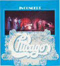 Music Memorabilia:Autographs and Signed Items, Chicago Early Autographed In Concert Poster (1970s)....