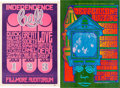 Music Memorabilia:Posters, Grateful Dead/Big Brother And The Holding Company/QuicksilverMessenger Service Five Bill Graham Fillmore Auditorium Concert P...